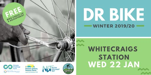 FREE Dr Bike (Whitecraigs Station, 22 Jan '20)