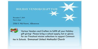 Holiday Vendor & Craft Sale