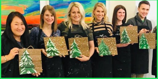 Paint and Sip Wood Creations