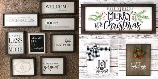 """DIY """"Christmas Gifts"""" w/Chalk Couture @ Cree Chic Clothing"""