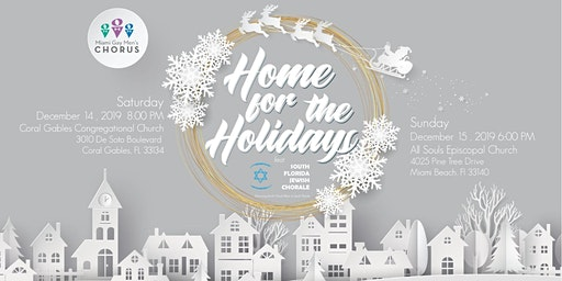 Home for the Holidays – December 14 – Coral Gables Congregational Church