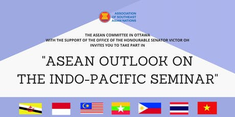 ASEAN OUTLOOK ON THE INDO-PACIFIC SEMINAR tickets