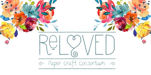 Reloved Craft Consortium ~ New and Gently Used Paper Craft Supplies SALE