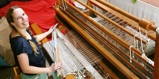 Introduction to Weaving workshop at Ragfinery