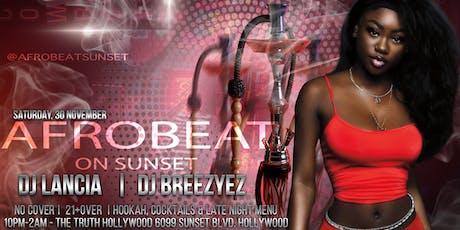 Afrobeat Sunday tickets