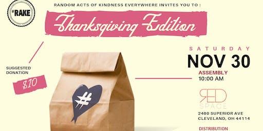 HashtagLunchbag Cleveland Thanksgiving Edition