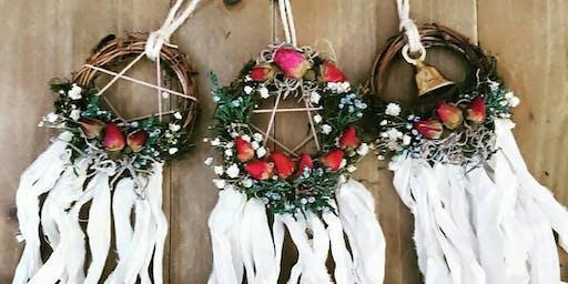 Magickal Mini Solstice Wreaths