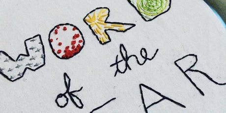 Embroidered Word of the Year workshop at Ragfinery tickets