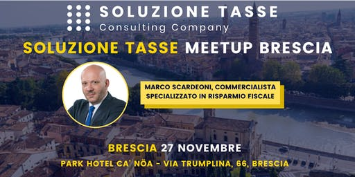 Soluzione Tasse MeetUp - Brescia