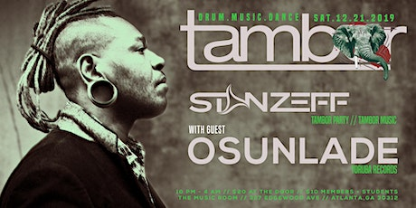 Tambor Holiday Party w/ Osunlade + Stan Zeff tickets