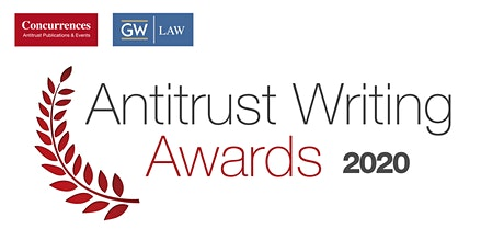 2020 Antitrust Writing Awards Gala Dinner tickets