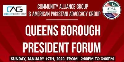 Queens Borough President Forum