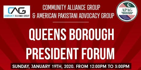 Queens Borough President Forum tickets