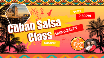 Penarth - Beginner Salsa Dance with Havana People !
