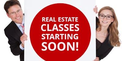 Start Your Real Estate Career!! Classes Start Soon! Be ready for the New Year!