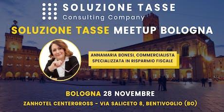 Soluzione Tasse MeetUp - Bologna biglietti