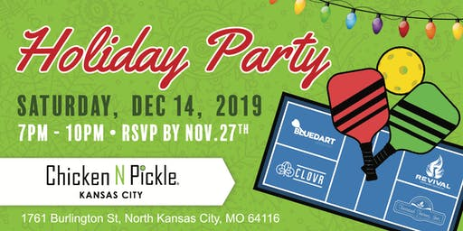 2019 Annual Holiday Party : Blue Dart, Farrand Farms, Revival, Clovr