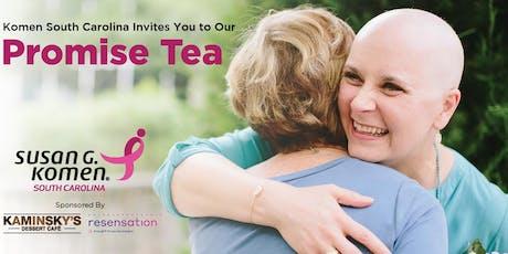 Susan G. Komen South Carolina Promise Tea tickets