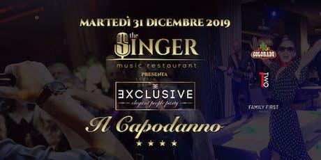 Capodanno 2020 al The Singer Music Restaurant Milano biglietti