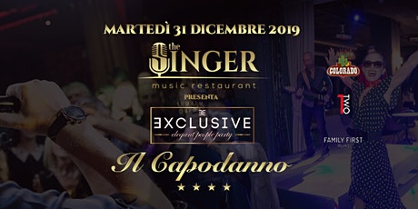 Capodanno 2020 al The Singer Music Restaurant Milano tickets