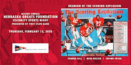 Nebraska Greats Foundation 2nd Annual Celebrity Sports Night tickets