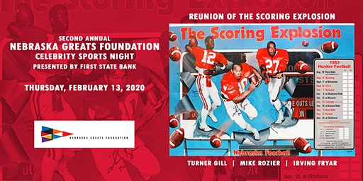 Nebraska Greats Foundation 2nd Annual Celebrity Sports Night