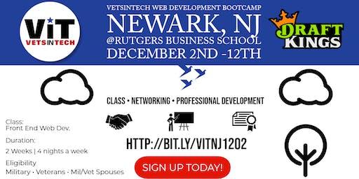 VetsinTech New Jersey & DraftKings Web Dev Training