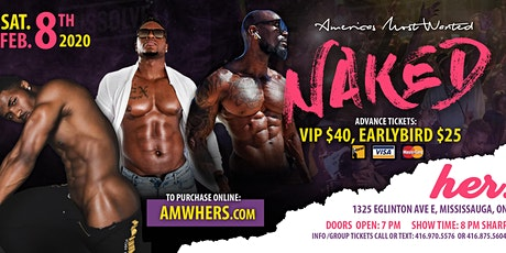NAKED NAKED - by America's Most Wanted/Devine Men Of Choice tickets