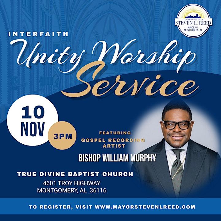 Reed Inauguration: Unity Interfaith Worship Service image