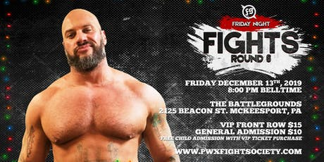 Fight Society - Friday Night Fights tickets