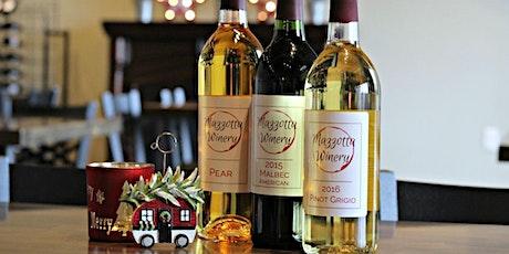 Wine & Whirl at Mazzotta Winery tickets