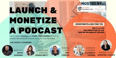 Opportunity Knocks Presents: How to Launch & Monetize a Podcast