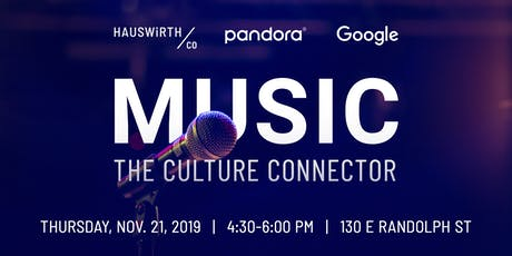 Music: The Culture Connector tickets