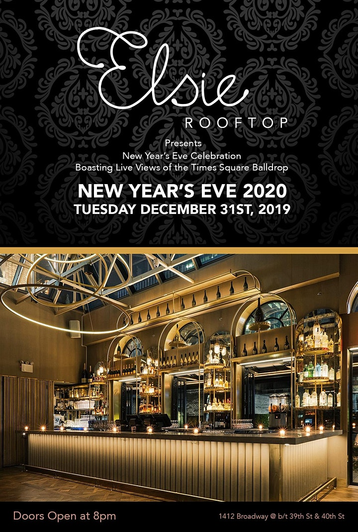 New Years Eve at Elsie with a View of the Ball Drop image
