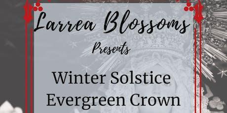 Winter Solstice Evergreen Flower Crown tickets