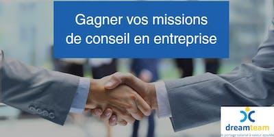 """Formation """"Comment gagner vos missions de conseil en entreprise"""" - 5 décembre 2019 - Paris"""