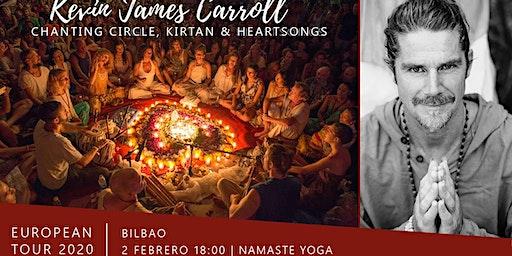 Aforo COMPLETO / BILBAO / Kirtan y Circulo de Canto con Kevin James