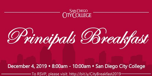 San Diego City College -Principals Breakfast