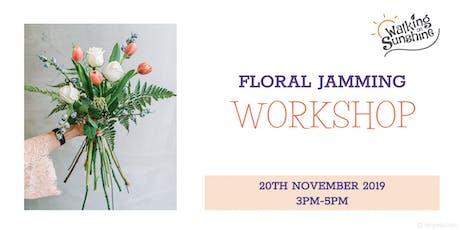 Floral Jamming Workshop tickets