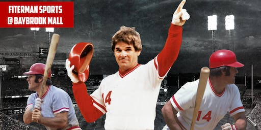 Pete Rose Autograph Signing -  Meet & Greet