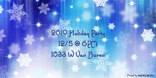 ❄️2019 Multi-User Group Holiday Party 2019 ❄️