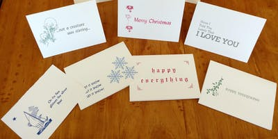 Holiday Card Class 2019: An Introduction to Letterpress