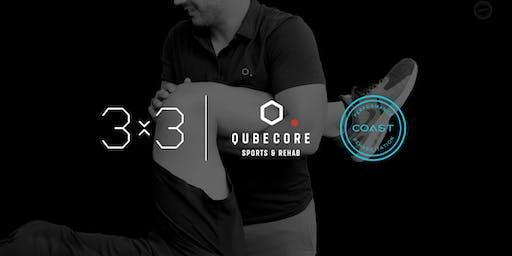 QubeCore & COAST Present: 3x3 Workshop Series