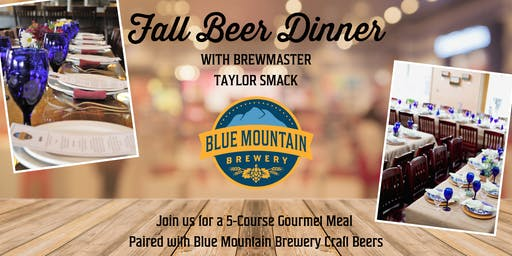 Fall Beer Dinner