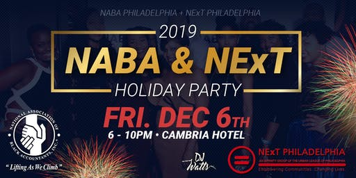 NABA & NExT Philly Holiday Party