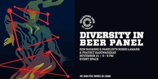 Diversity in Beer Panel