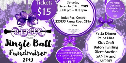 Remix Baton Club's JINGLE BALL Fundraiser