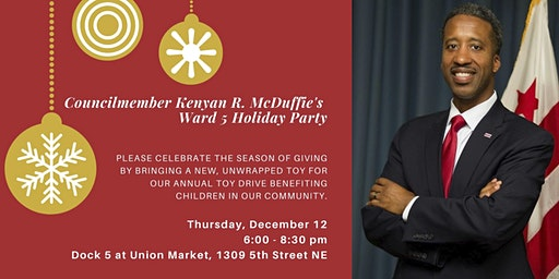 Councilmember McDuffie's Ward 5 Holiday Party