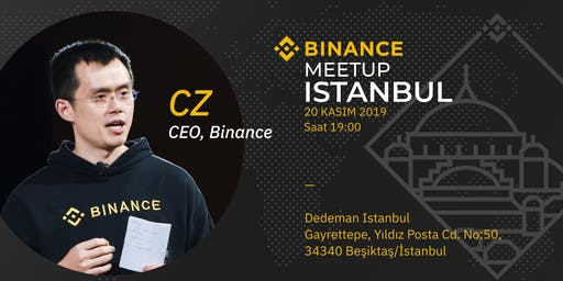Binance ''CZ Özel'' Istanbul Meetup