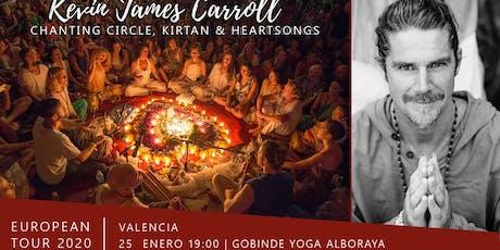 VALENCIA / Kirtan y Circulo de Canto con Kevin James entradas